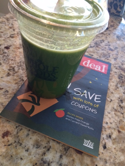 Whole Foods green juice